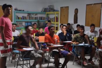english class w/ the court boys